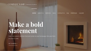 Velux Fireplaces WordPress Theme