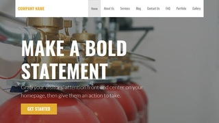 Stout Fire Department WordPress Theme