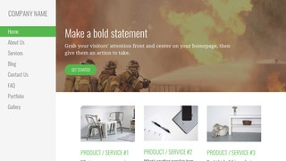 Escapade Fire Protection Equipment WordPress Theme