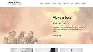 Mins Fire Protection Equipment WordPress Theme