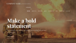 Velux Fire Protection Equipment WordPress Theme