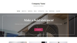 Uptown Style Fire and Water Damage Restoration WordPress Theme