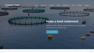 Lyrical Fish Hatchery and Farm WordPress Theme