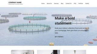 Mins Fish Hatchery and Farm WordPress Theme