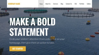 Stout Fish Hatchery and Farm WordPress Theme