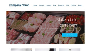 Ascension Fish and Meat Market WordPress Theme