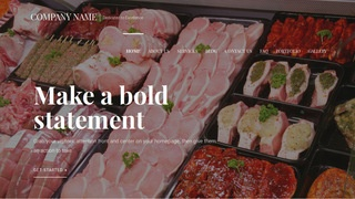 Velux Fish and Meat Market WordPress Theme
