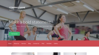Activation Fitness WordPress Theme