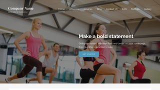 Lyrical Fitness WordPress Theme
