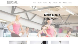Mins Fitness WordPress Theme