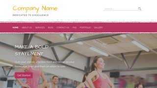 Scribbles Fitness WordPress Theme