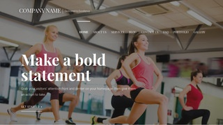 Velux Fitness WordPress Theme