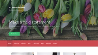Activation Flowers WordPress Theme