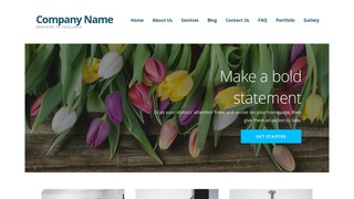 Ascension Flowers WordPress Theme