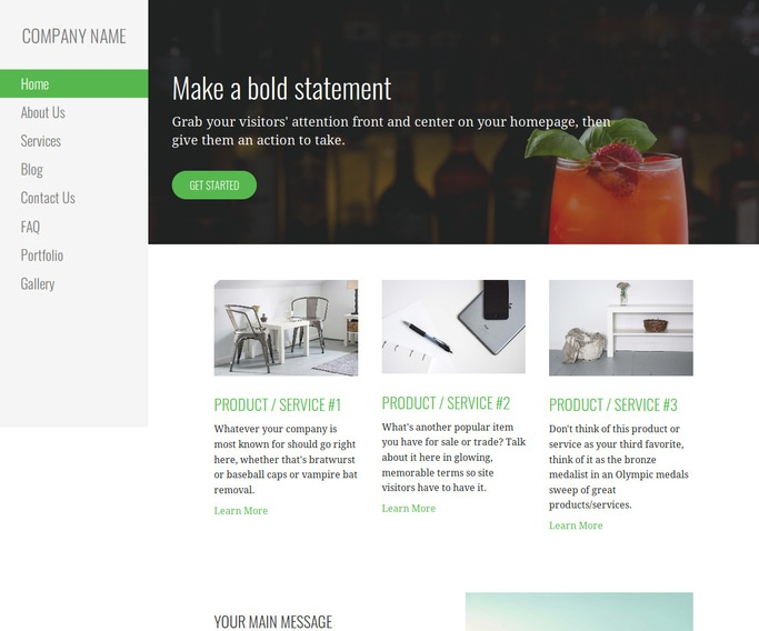 Escapade Food and Drink WordPress Theme