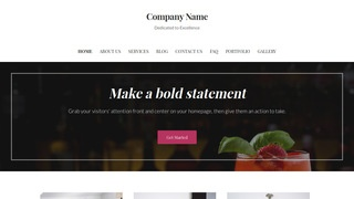Uptown Style Food and Drink WordPress Theme