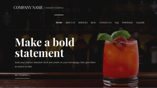 Velux Food and Drink WordPress Theme