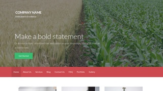 Activation Food Broker WordPress Theme