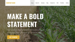 Stout Food Broker WordPress Theme