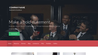 Activation Formal Wear and Tuxedos WordPress Theme