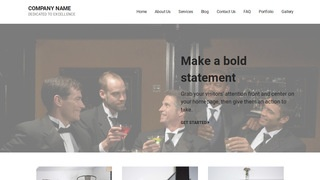 Mins Formal Wear and Tuxedos WordPress Theme