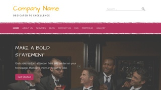 Scribbles Formal Wear and Tuxedos WordPress Theme