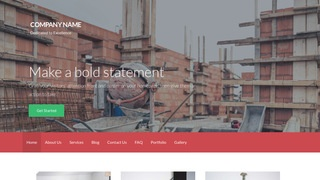 Activation Building Foundation Contractor WordPress Theme