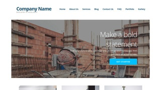 Ascension Building Foundation Contractor WordPress Theme