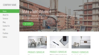 Escapade Building Foundation Contractor WordPress Theme