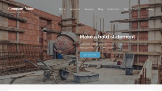 Lyrical Building Foundation Contractor WordPress Theme