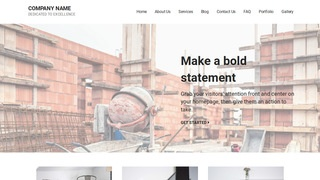 Mins Building Foundation Contractor WordPress Theme
