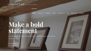 Velux Picture Frames WordPress Theme