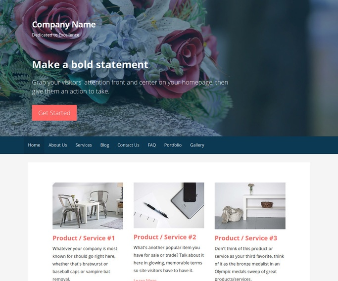 Primer Funeral Service and Cemetery WordPress Theme