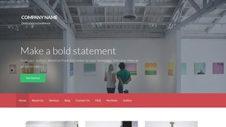 Activation Art Gallery WordPress Theme