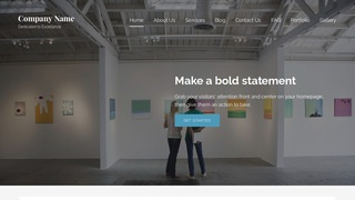 Lyrical Art Gallery WordPress Theme