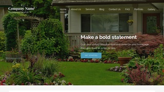 Lyrical Gardener WordPress Theme