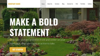 Stout Gardener WordPress Theme