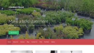 Activation Plant Nursery WordPress Theme