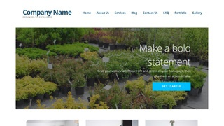 Ascension Plant Nursery WordPress Theme
