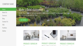 Escapade Plant Nursery WordPress Theme