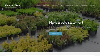 Lyrical Plant Nursery WordPress Theme