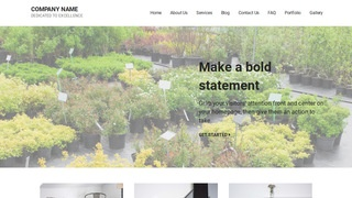 Mins Plant Nursery WordPress Theme