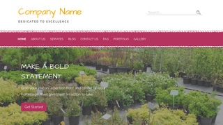Scribbles Plant Nursery WordPress Theme