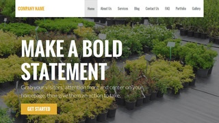Stout Plant Nursery WordPress Theme