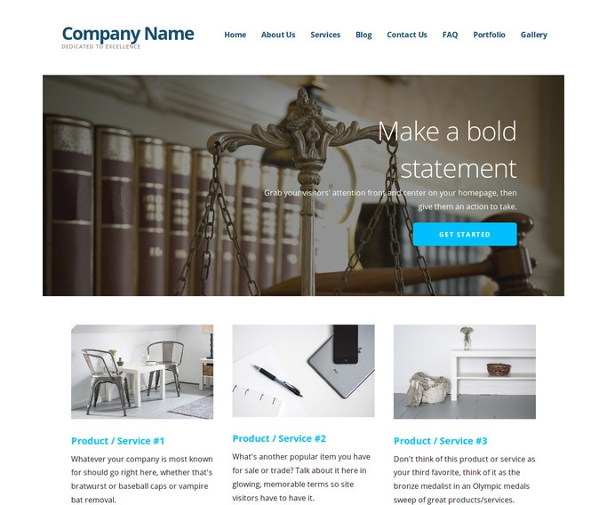 Ascension General Practice Attorney WordPress Theme