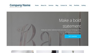 Ascension Glass Etching and Engraving WordPress Theme