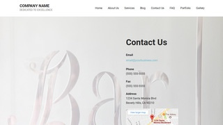 Mins Glass Etching and Engraving WordPress Theme