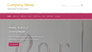 Scribbles Glass Etching and Engraving WordPress Theme