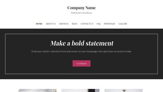 Uptown Style Glass Etching and Engraving WordPress Theme