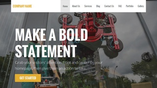 Stout Glass Repair and Replace WordPress Theme